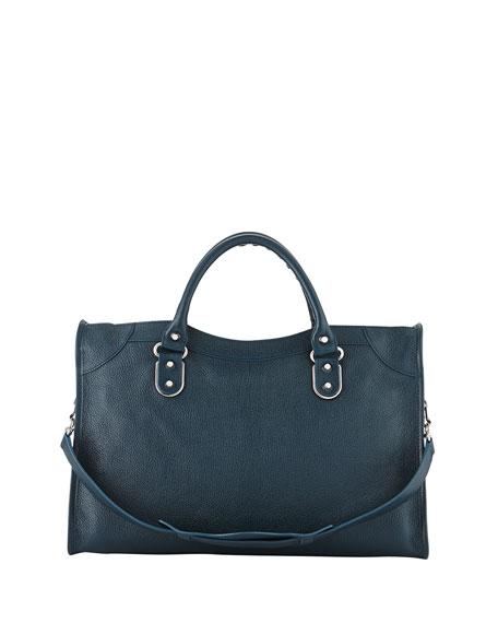 Classic City Metallic Edge Bag