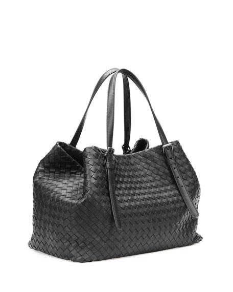 A-Shape Woven Tote Bag