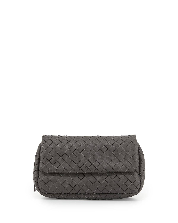 851e393d0b Bottega Veneta Intrecciato Small Chain Crossbody Bag