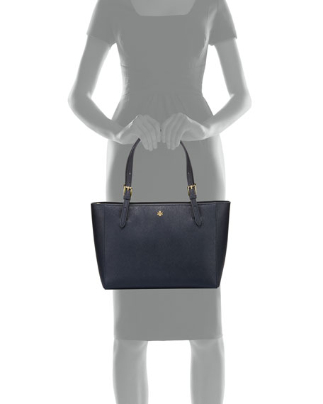 York Small Saffiano Tote Bag