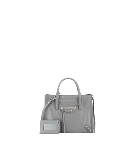 Balenciaga Papier A4 Textured-leather Tote