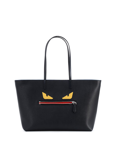 Monster Tote Bag, Black Multi
