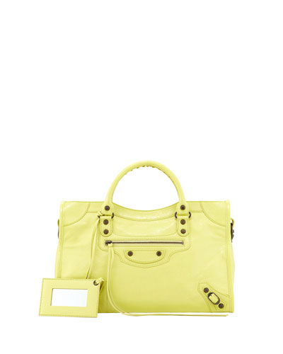 Classic City Bag, Citron