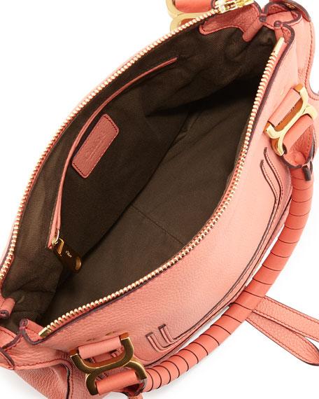 Marcie Medium Shoulder Bag, Coral