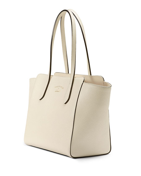 Swing Small Tote Bag, White