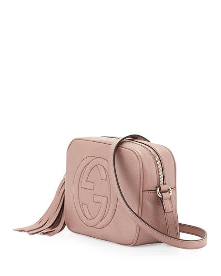 Soho Small Shoulder Bag, Nude