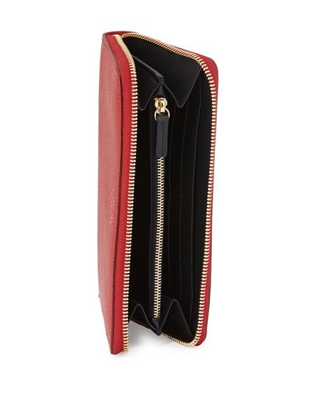 Panama Large Zip Wallet, Red
