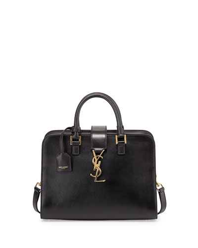 Monogramme Mini Zip-Around Satchel Bag, Black