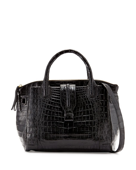 Nancy Gonzalez New Cristina Large Crocodile Tote Bag,