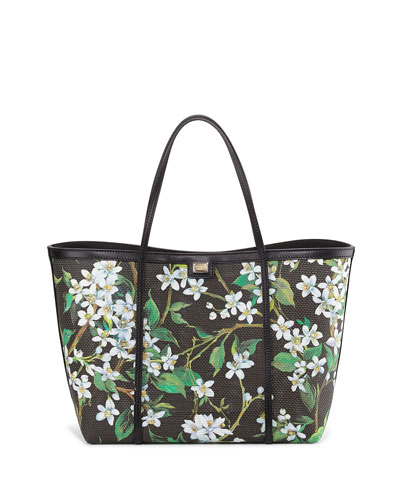 Escape Orange Blossom Shopping Bag