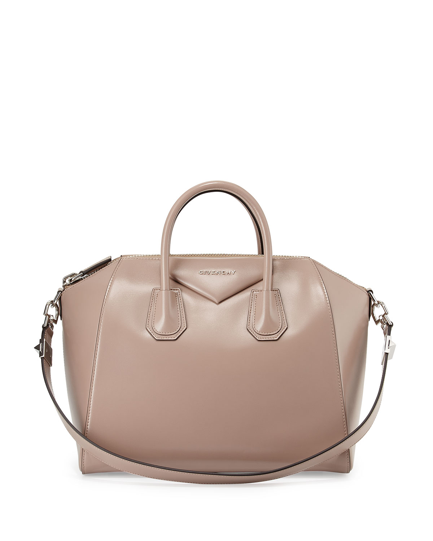 c2c8b451d9a3 Givenchy Antigona Medium Leather Satchel Bag