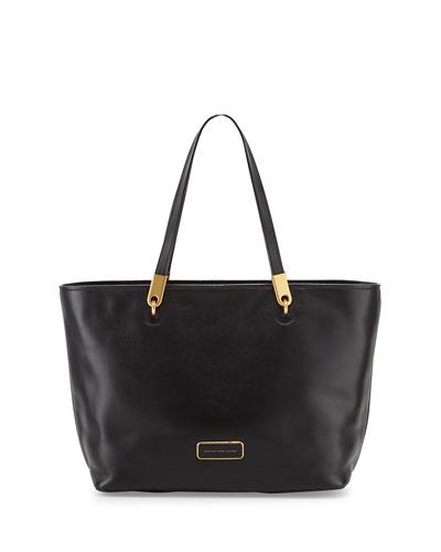 Ligero East-West Tote Bag, Black
