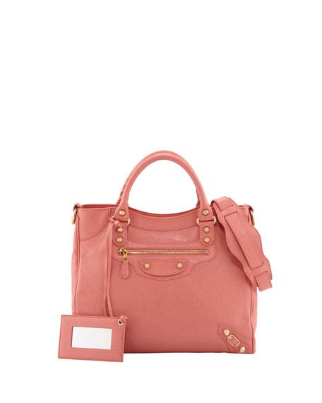 Balenciaga Giant 12 Golden Velo Bag, Rose Azalee