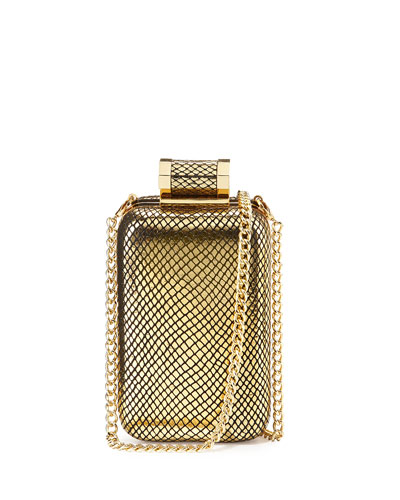 Oblong Minaudiere, Gold
