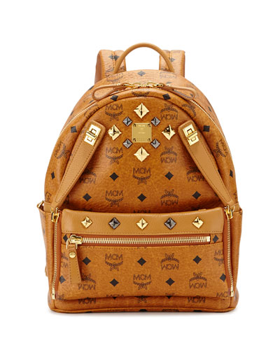 Dual Stark Small Backpack, Cognac