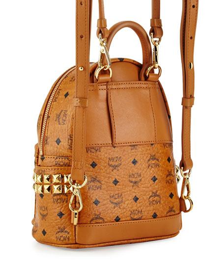 MCM Stark Side Stud X-Mini Backpack b568ebac0cfae