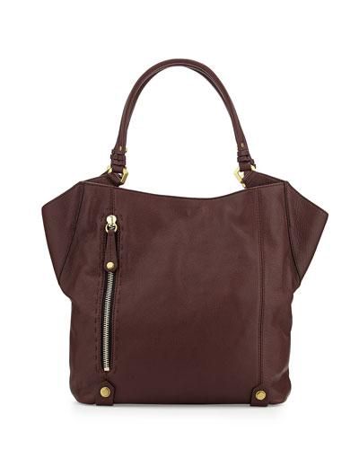 Aquarius Leather Shoulder Bag, Espresso