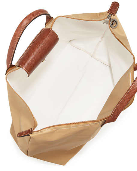 Le Pliage Large Travel Bag, Beige