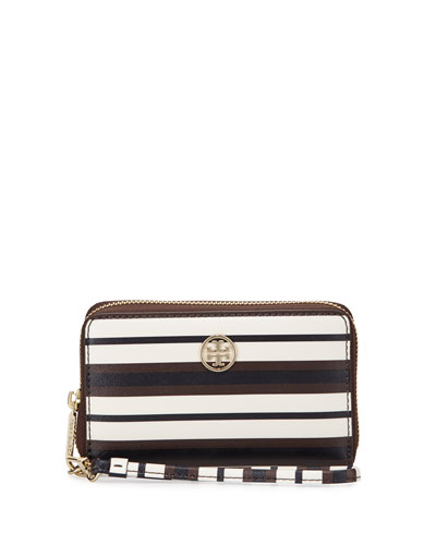 Robinson Striped Smart Phone Wallet
