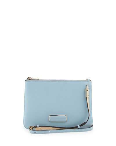 Ligero Double Percy Crossbody Bag, Faded Blue/Multi