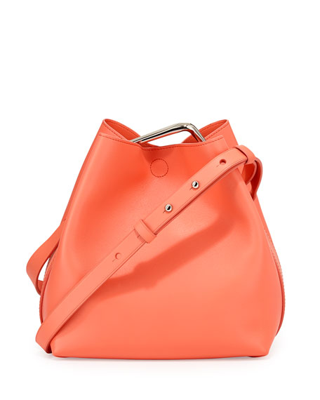 3.1 Phillip Lim Quill Mini Bucket Bag, Sherbet