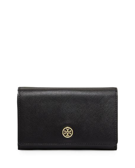 Robinson Mini Chain-Strap Bag, Black