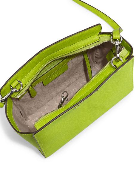 Selma Medium Messenger Bag, Pear