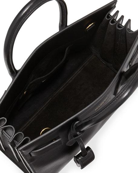 Yves Saint Laurent East-West Baby Tote Bag, Nero Black