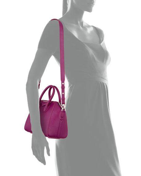 Mini Antigona Crossbody Bag, Purple