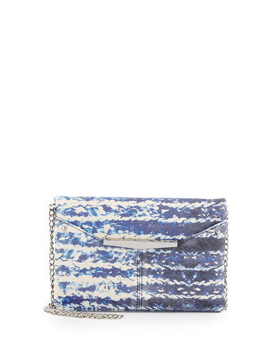 Libby Printed Crossbody Bag, Blue/Multi