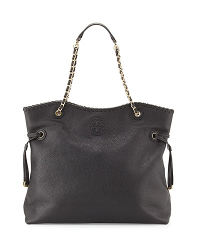 Marion Slouchy Tote Bag, Black