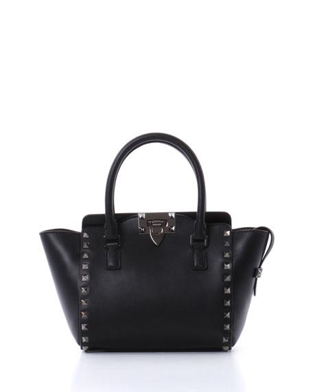 Micro Mini Shopper Bag, Black