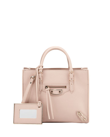 Balenciaga Papier Mini A4 AJ Tote Bag, Light