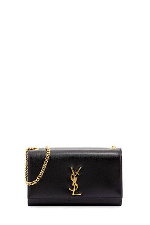 Saint Laurent Kate Medium Grain de Poudre Shoulder Bag