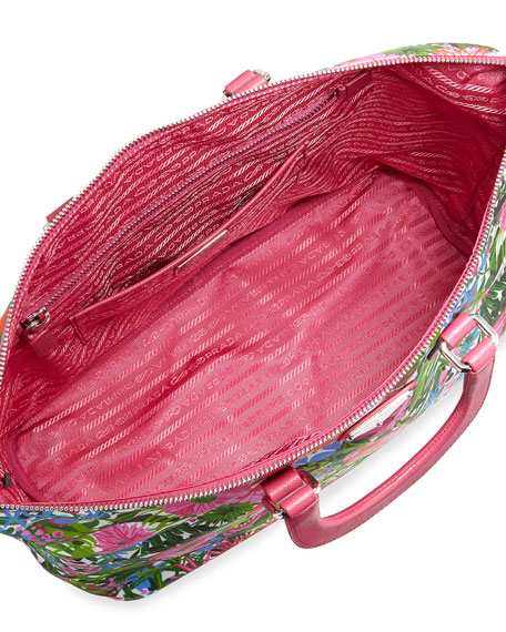 prada multicolor handbags - prada printed tote, prada purse for sale