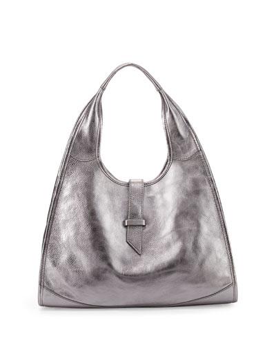 New Yorker Hobo Bag, Gunmetal