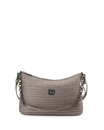 Powchky Zip-Top Crossbody Bag