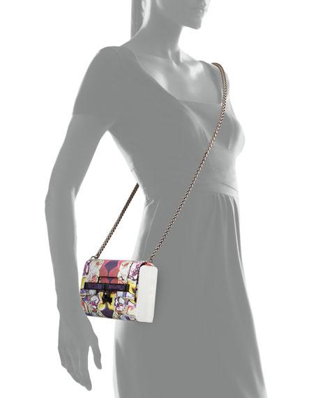 Kara Ross Lux Mini Printed Crossbody Strap