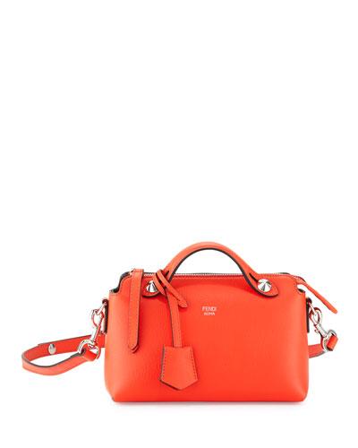 By the Way Mini Satchel Bag, Red Orange