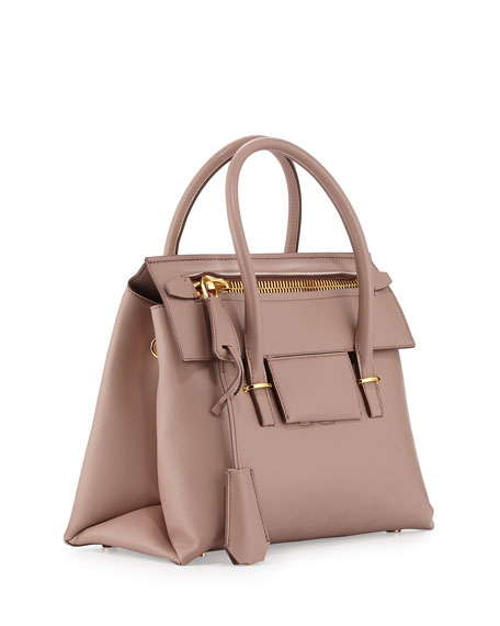 Mini Icon Tote Bag, Blush Nude