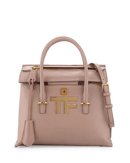 TOM FORD Mini Icon Tote Bag, Blush Nude