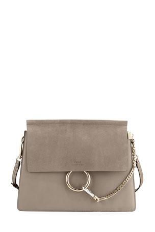 Chloe Faye Medium Flap Shoulder Bag