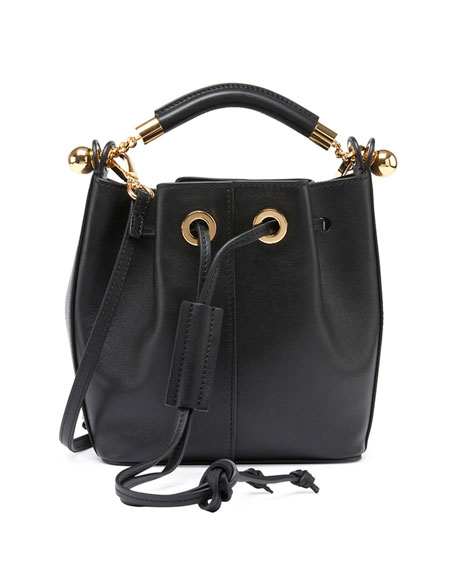 the best handbags - small gala bucket bag in smooth calfskin
