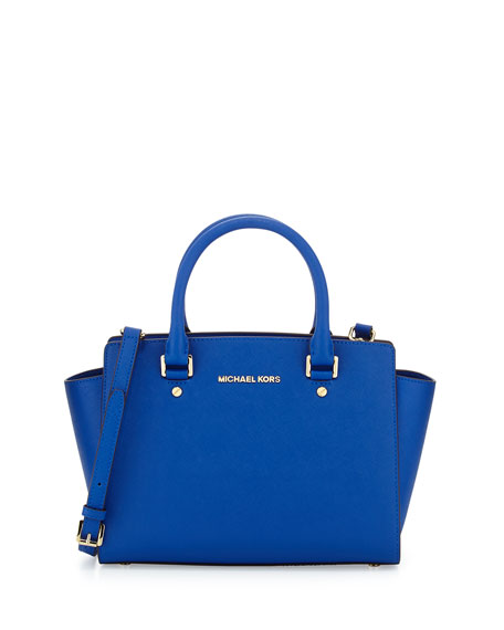 Michael Michael Kors Selma Medium Top Zip Satchel Bag
