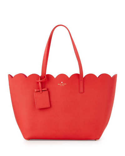 lily avenue carrigan tote bag, geranium