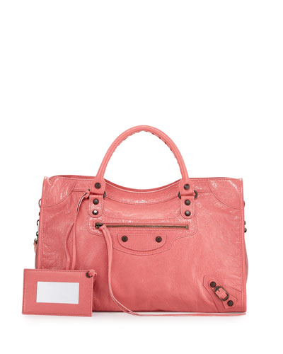 Classic City Bag, Rose