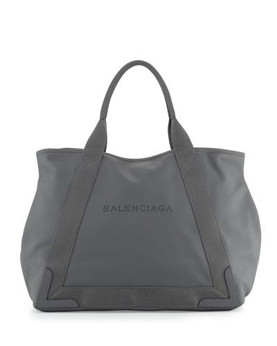 Cabas Medium Tote Bag, Gray