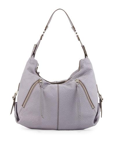 Lauren Hobo Bag, Light Gray
