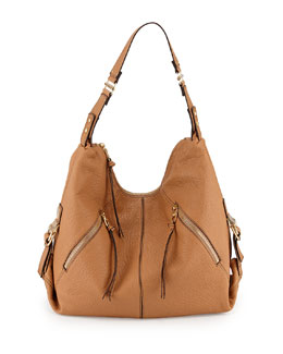 Lauren Hobo Bag, Camel
