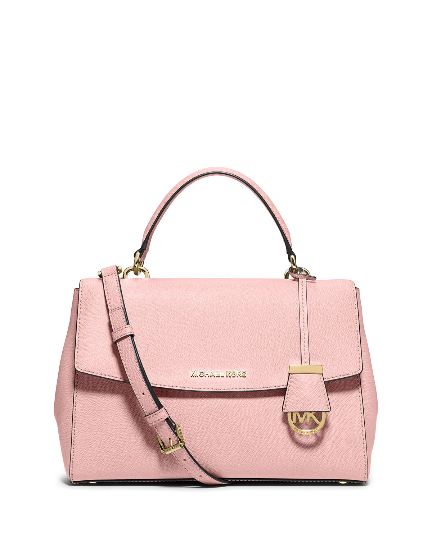 979803ee4149 MICHAEL Michael Kors Ava Medium Saffiano Satchel Bag